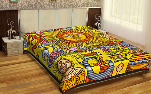 Zodiac Indian Mandala Cotton Wall Hangings Psychedelic Bedding Home
