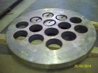 Circles Flange Cutting