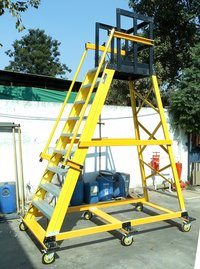 Mobile Platform FRP Ladder
