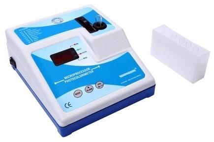 Microprocessor Photo Colorimeter.