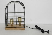 Designed Wooden Lamp