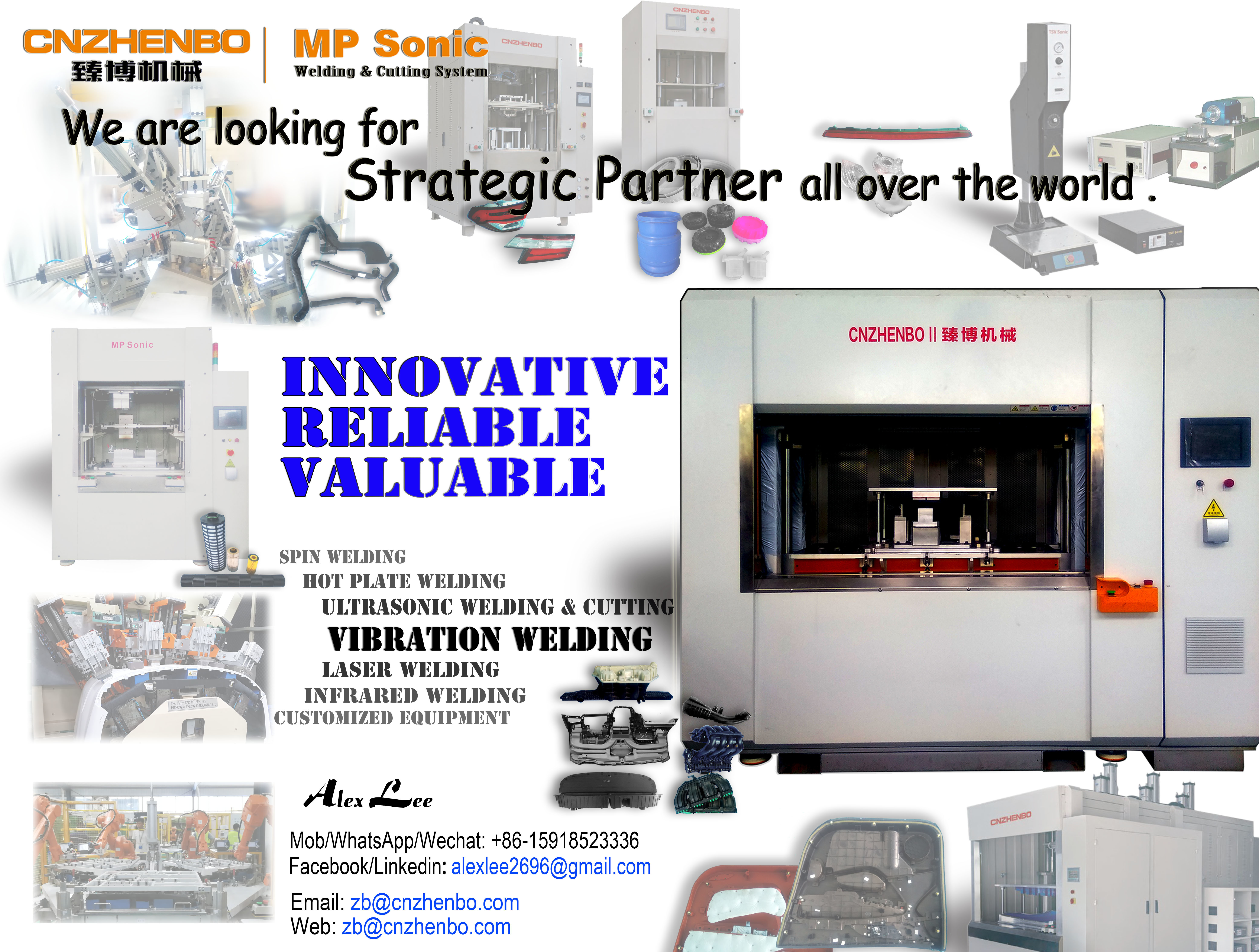 30KG Vibration Plastic Welding Machine