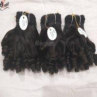 Wholesale Natural Fumi Temple Hair Cuticle Aligned