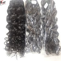 Wholesale Natural Kinky Temple Hair Cuticle Aligned