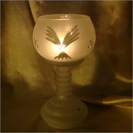 Pillar Glass Decorative Candle Holder