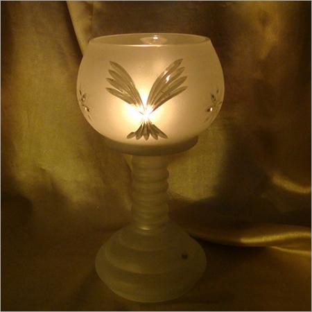 Pillar Glass Decorative Candle Holder