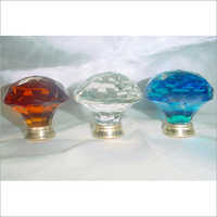 Colourful Glass Knobs & Handle