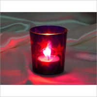 Colorful T Light Candle Holder