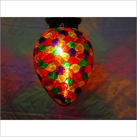 Decorated Glass Mosaic Wall Hanging