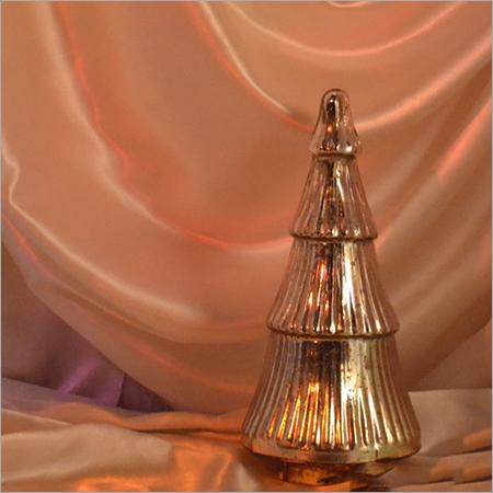 Silver Glass Christmas Tree
