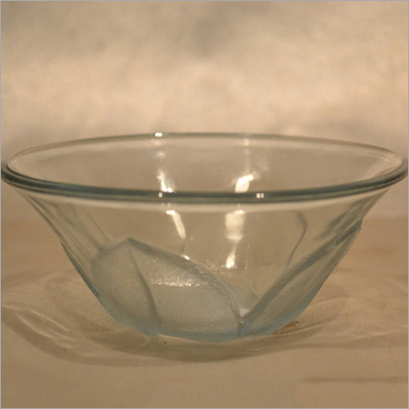 GLASS CLEAR BOWL FOR KITCHEN USE