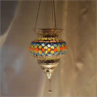 T LIGHT MOSAIC WALL HANGING