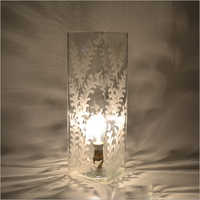 Clear Glass Handicraft Table Lamp