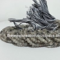Black Rutile Rondelle Bead Wholesale Beads for Jewelry Making