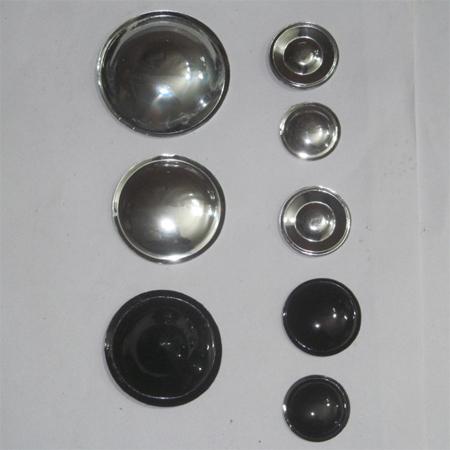 Silver Mayler Dust Cap