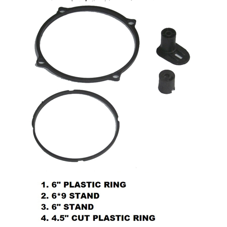Multimedia Speaker Plastic Ring