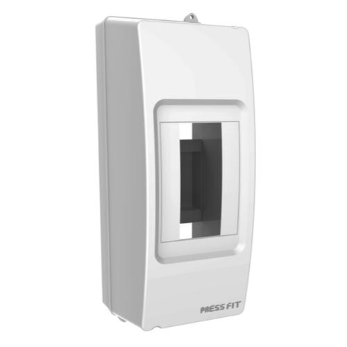 Press Fit - 1.5 Way Diya MCB Enclosure