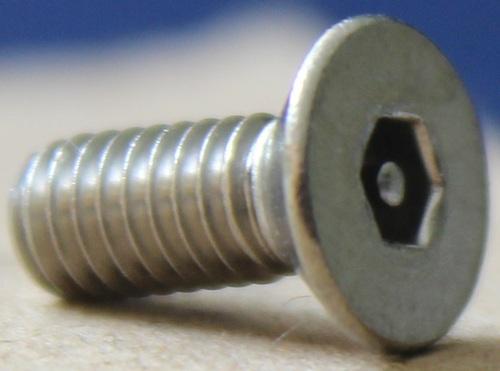 CSK Head Pin Hex Drive Anti Theft Machine Screw
