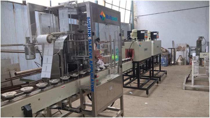 Shrink Sleeve Labeling Machine 200 M