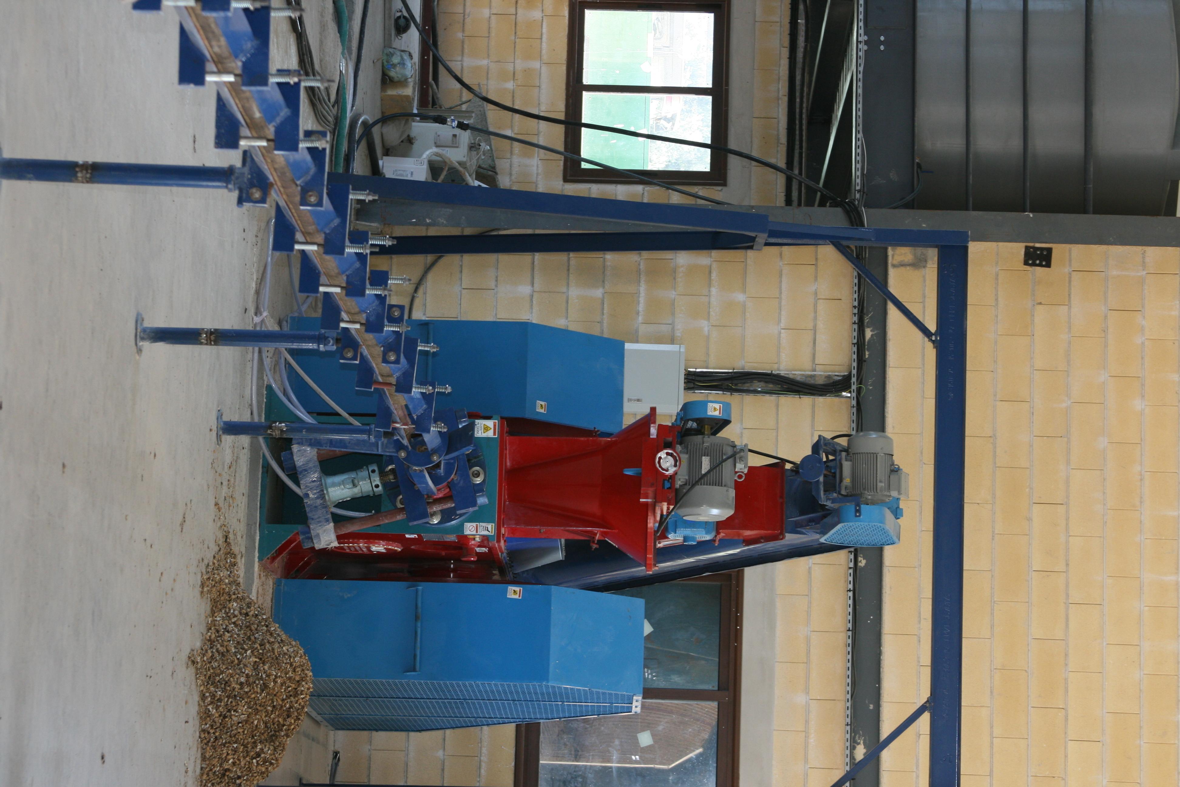 Industrial Briquetting Press Machine