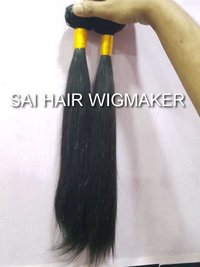 Straight Wefted Hair