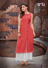 Exclusive Ladies Rayon Kurtis