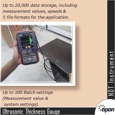 Smart Ultrasonic Thickness Gauge