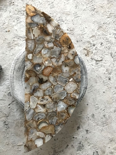 Half Round Agate Table Top
