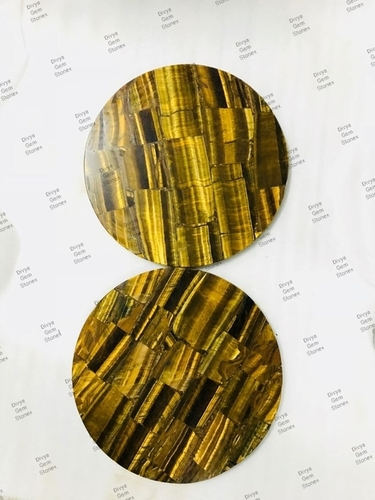 Tiger Eye Gold Table Tops