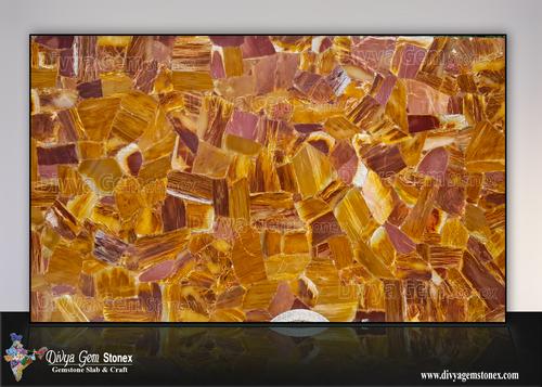 Desert Red Quartz Slab