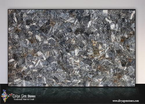Grey Quartz Slab