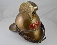 FULL BRASS FIREMEN HELMET MERRY WEATHER HELMETS VICTORIAN FIRE FIGHTERS