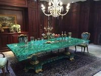 Malachite Dining Table