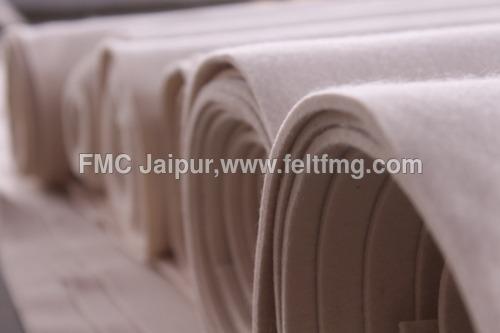 Woolen compressed felts