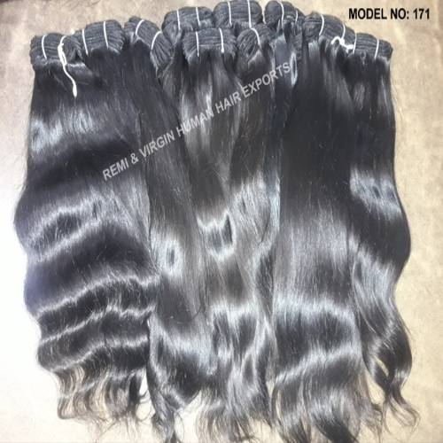 Wholesale Natural Wavy Temple Hair Cuticle Aligned