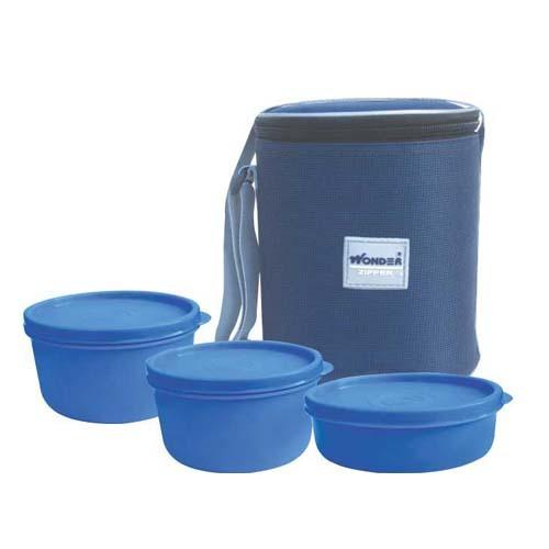 Plastic lunch Box ZIPPER ZUMBO