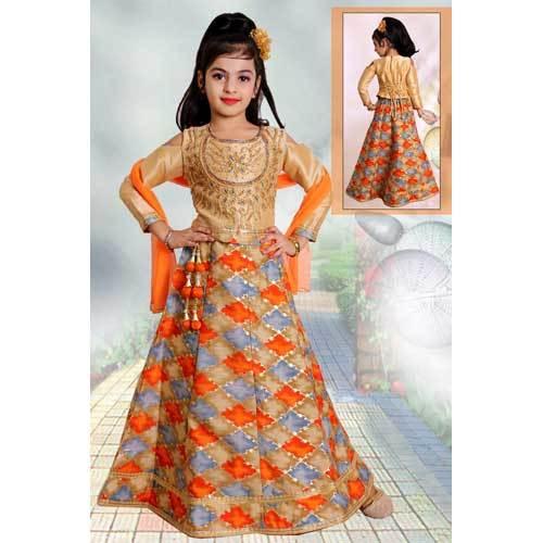 Girls Designer Lehenga