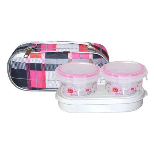 Plastic Lunch Box ZIPPER KLICK SEAL 250 PLUS