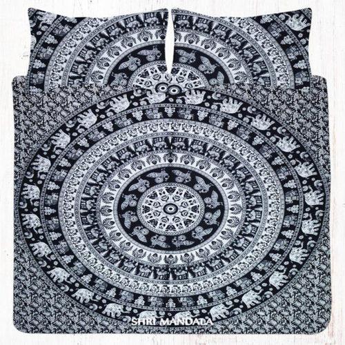King Mandala Bedding Set