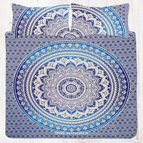 King Mandala Bedding Set