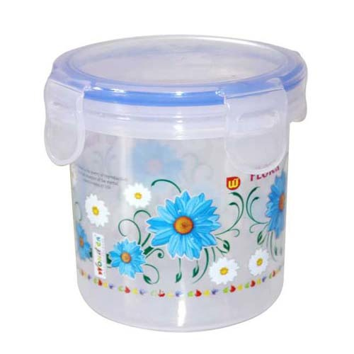 Plastic Printed Microwave Safe Multi Purpose Container KLICK N SEAL  800