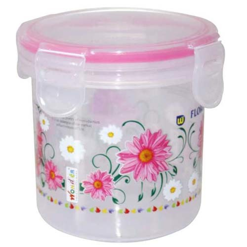 Plastic Printed Multi Purpose Container KLICK n SEAL 1250