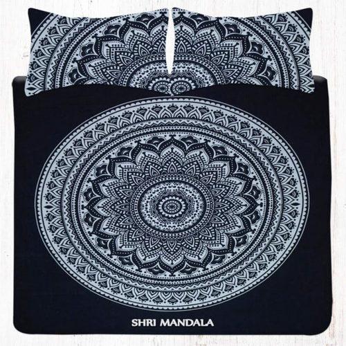 Queen Mandala Bedding Set