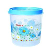 Round Plastic Foil Printed  Air Tight Container With Lid CONTI 107