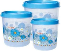 Plastic Round Foil Printed  Multi Purpose Container CONTI 716