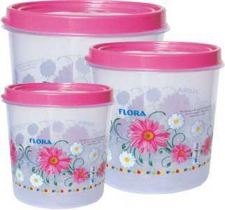 Round Plastic Multi Purpose Container Set CONTI 716