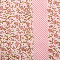 King Size Indian Printed jaipuri 100% Cotton Flower Design Printed Bedsheet