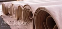 Carbonised felt rolls