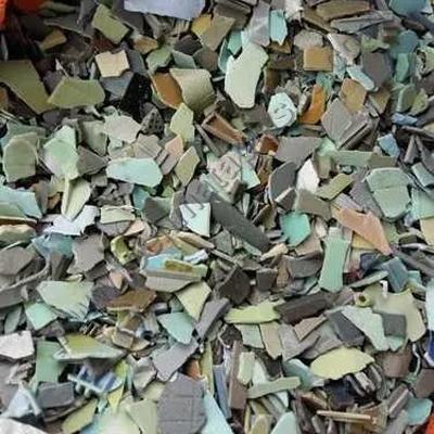 Mixed Colored Plastic Fridge Scrap