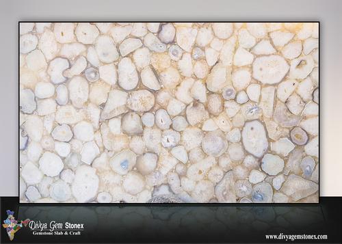 Crystal Agate Stone Slab